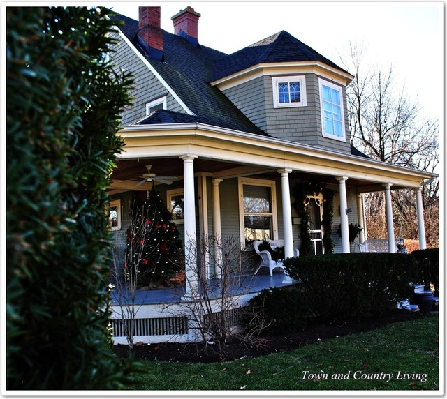 Historic Midwest Homes Traditional Exterior