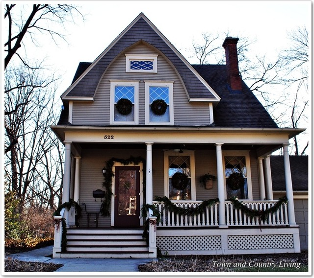 Traditional Exterior Homes: Historic Midwest Homes