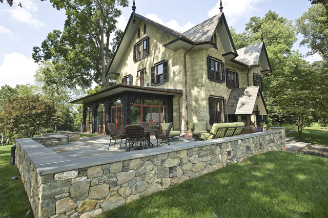 Historic Renovation in West Chester, PA traditional-exterior