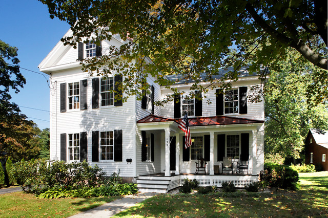 Historic Renovation - Unionville, CT traditional-exterior