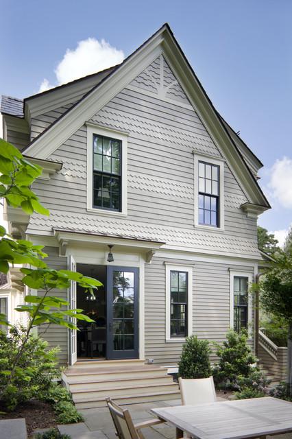 Historic victorian exterior victorian exterior for Benjamin moore stonington gray exterior