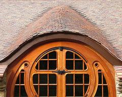 Hobbit House rustic-exterior