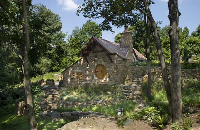 Hobbit House traditional exterior