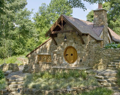 Hobbit House - front view traditional exterior