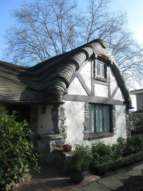 Hobbit House In Vancouver Bc Eclectic Exterior Vancouver By Long Life Windows Amp Doors