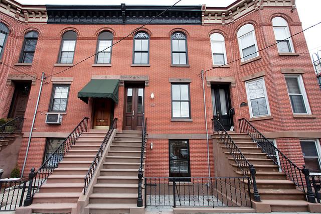 Hoboken Townhome traditional-exterior