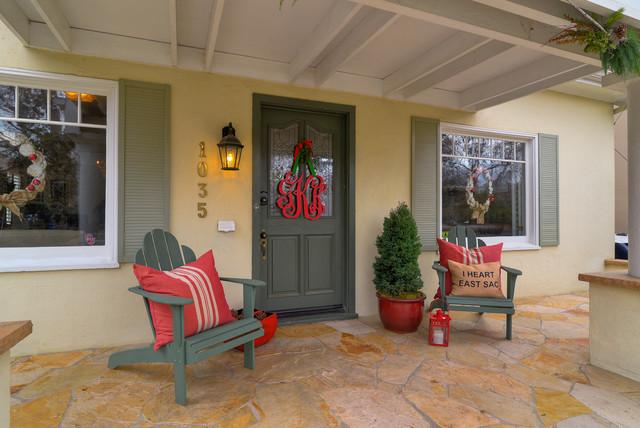 Holiday Home Tour 2012 traditional-exterior