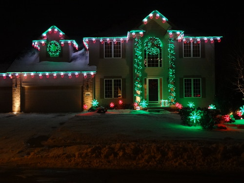 traditional exterior by alpharetta lighting christmas lights etc