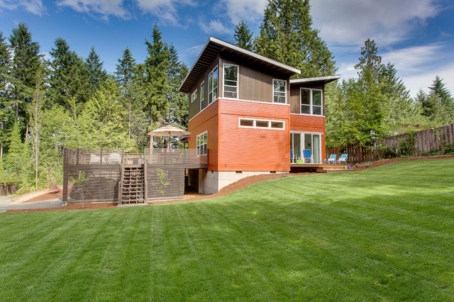 Holly House Prefab Modern Exterior Seattle By Cast