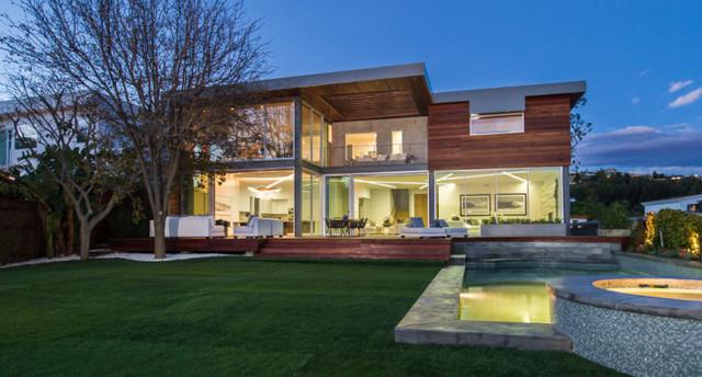 Hollywood Hills Modern Home Modern Exterior