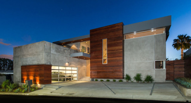 Hollywood hills modern home modern exterior los angeles by