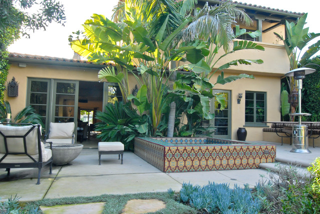 Hollywood Spanish Colonial Restoration mediterranean-exterior
