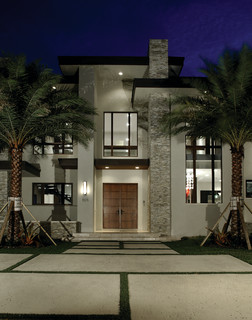 Hollywood Waterfront - Contemporary - Exterior - Miami - by Barron Development Corp.