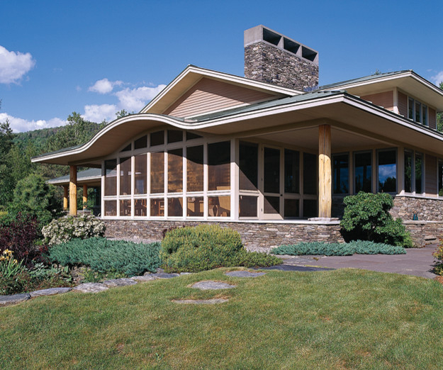 Susanka architect home by design original exterior by for Not so big house architects