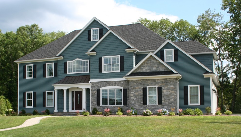 Home Elevations Craftsman Exterior Boston by Pecoy