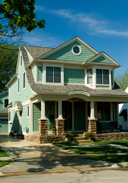 Home exteriors traditional exterior detroit by for Traditional home exterior