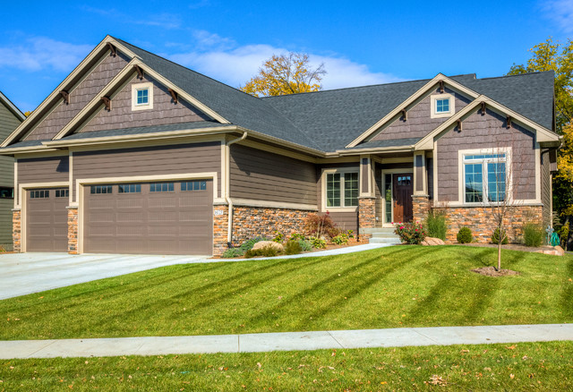 Home Exteriors - Craftsman - Exterior - other metro - by Ironwood Homes