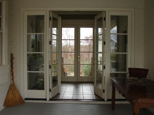 Who manufactures the french doors with matching side for French doors with side windows