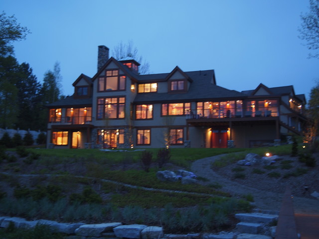 Home on the coast of Maine traditional-exterior