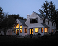 Home on the Peninsula, after C.F.A. Voysey traditional exterior
