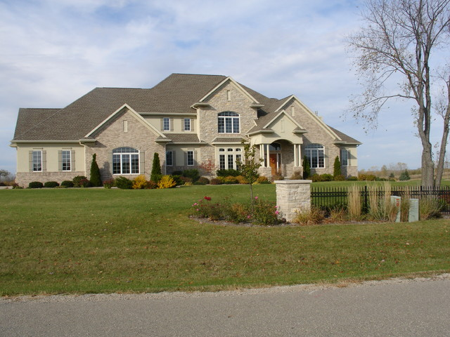 Homes designed by Homes by Design traditional-exterior