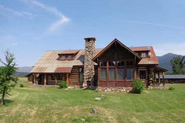 Homestead rustic-exterior
