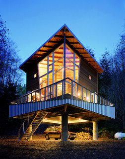 Hood canal cabin contemporary exterior seattle by for Hood canal cabin for sale