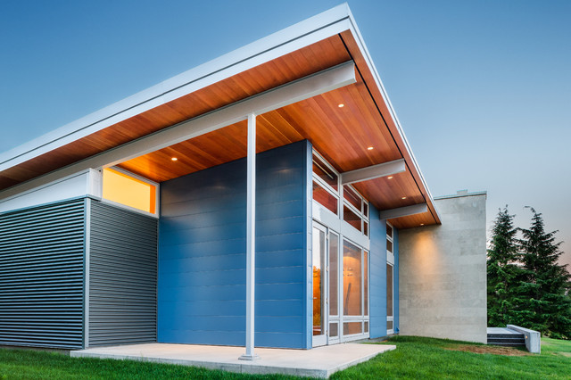 Hood Canal Contemporary Exterior Seattle By