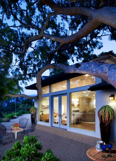 Hope Ranch Residence contemporary-exterior
