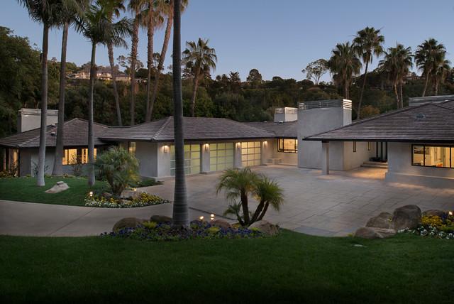 Hope Ranch Santa Barbara Contemporary Exterior