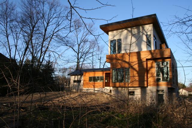 Horde Residence - Contemporary - Exterior - detroit - by McIntosh Poris Associates