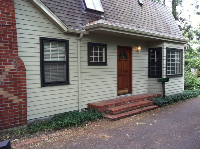 Horn Lane Re-paint traditional-exterior
