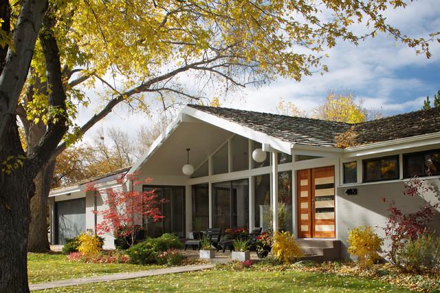 Hornstein Residence Midcentury Exterior Denver By