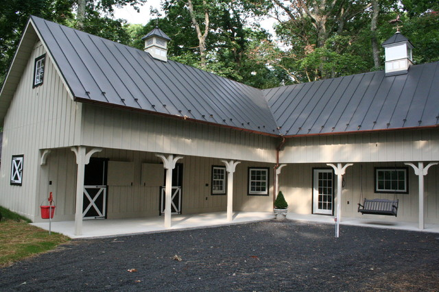Horse Barn Traditional Exterior Other Metro By Old