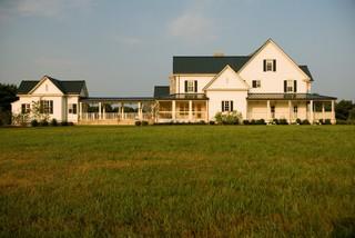 Horse Farm farmhouse-exterior