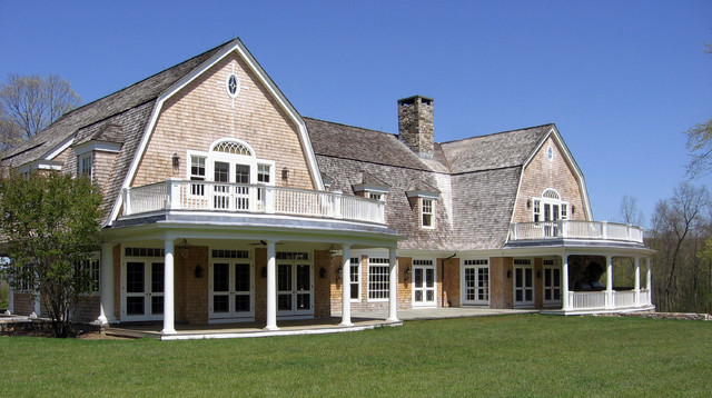 Horse Farm In Upstate New York Traditional Exterior
