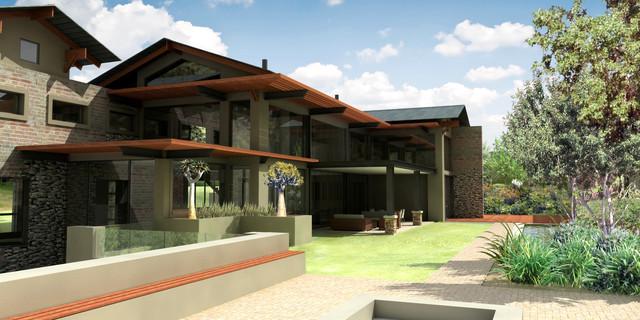 House 2 contemporary-exterior