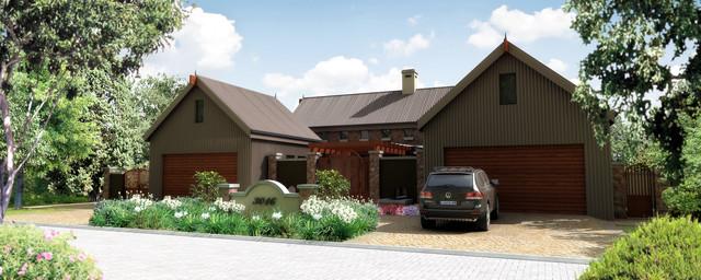House 6 contemporary-exterior