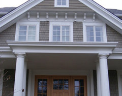 House and Home lottery house traditional-exterior