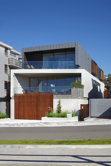 House Clovelly modern-exterior