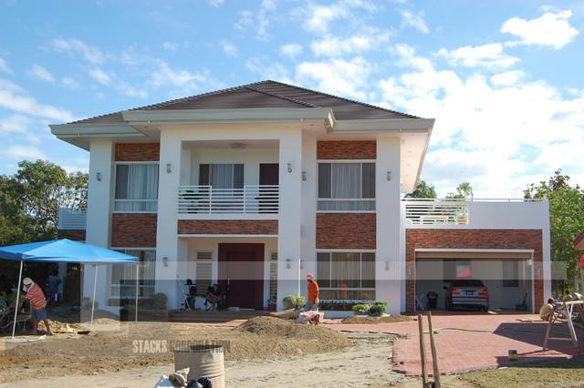 House Construction contemporary-exterior