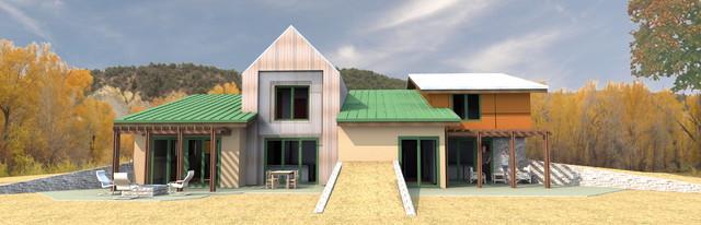 House E3 - TCI Lane Ranch, Carbondale, CO contemporary-exterior