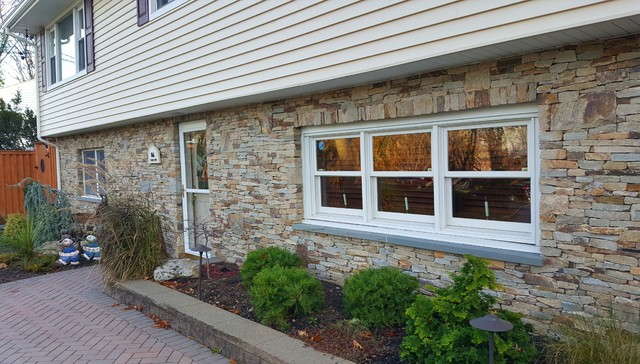 House facades stone brick stucco american for American brick and stone