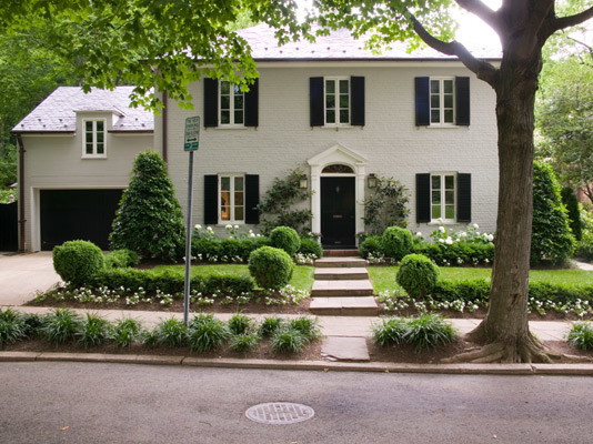 House in Glover Park - Traditional - Exterior - dc metro - by Overmyer Architects