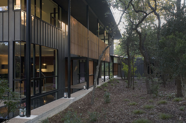 House In Trees contemporary