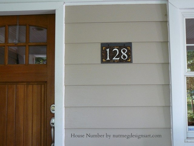 exterior house numbers - Best Furniture Decor Ideas