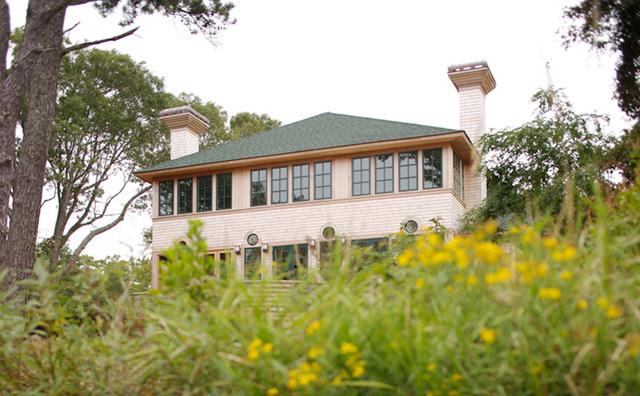 House on Lake Wequaquet beach-style-exterior