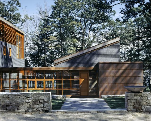 House on the neck contemporary exterior portland for Contemporary homes portland