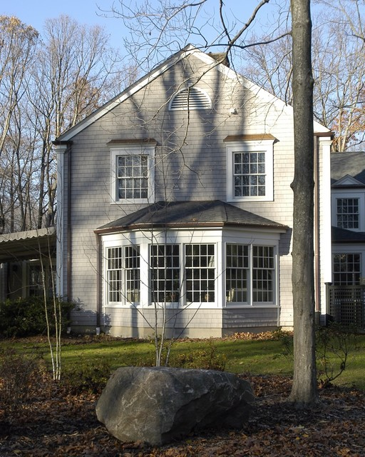 Bay Window Exterior : House on turtle back traditional exterior new york