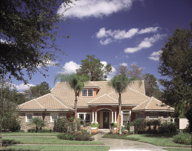 House Plan #047D-0052 traditional-exterior